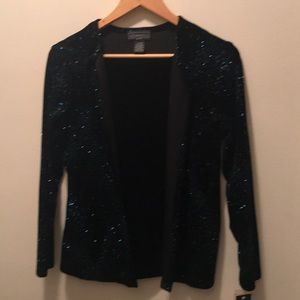 NWT Holiday Velour Blouse